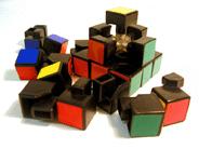 Rubik's Cube Hancur