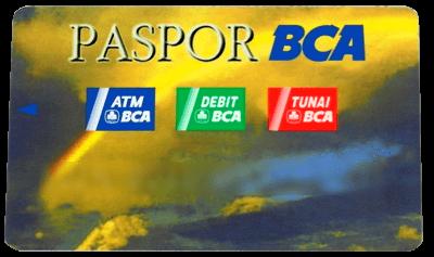 Kartu Paspor BCA