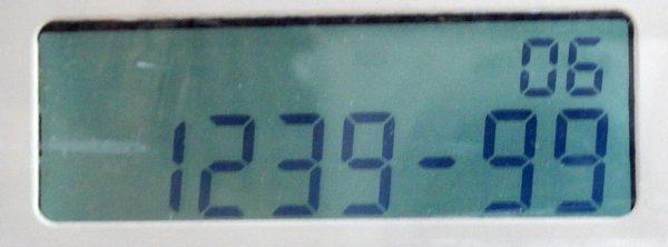 Meteran listrik prabayar Hexing - kode 123999