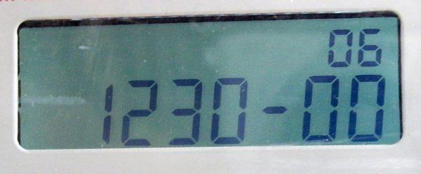 Meteran listrik prabayar Hexing - kode 123000
