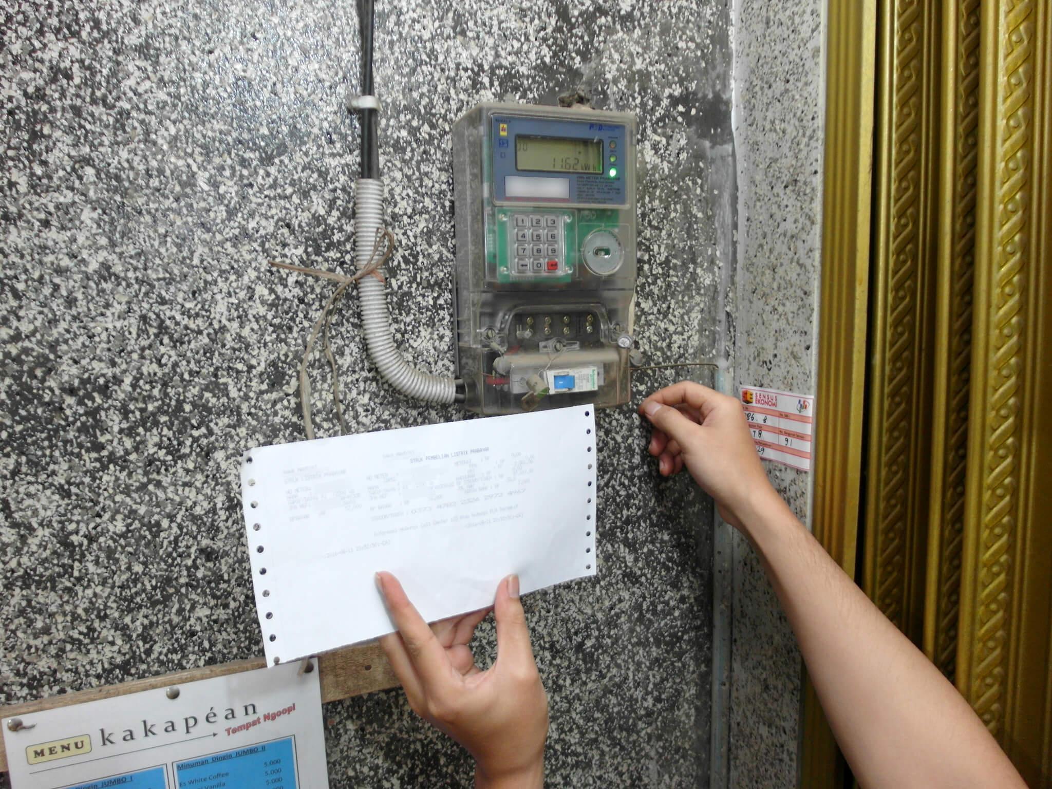 Memasukkan Kode Token Listrik Prabayar Pln Ke Kwh Meter Dengan Nomor Meteran 5 Id Berbeda