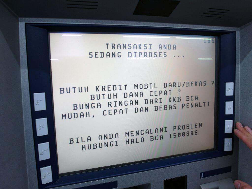 ATM BCA - Informasi Non Tagihan Listrik - Penambahan Daya - Pembayaran diproses
